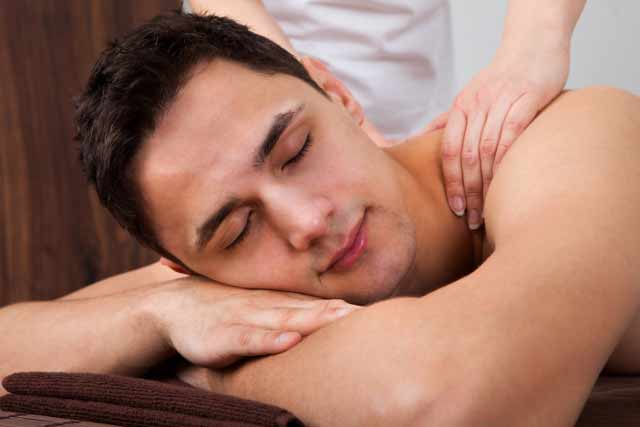 getting massage therapy in london