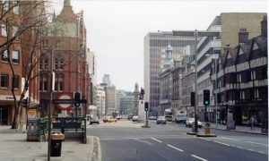 the holborn area of central london