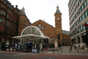 liverpool street in the city