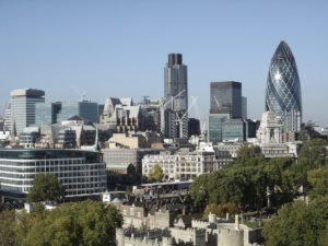 a very scenic view of the city of london, uk